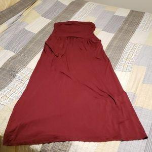 ef41cab3922 Vanilla Bay. Strapless Maxi dress
